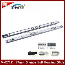 20% in stock 2-fold mepla drawer slide mini ball bearing installing drawer slide