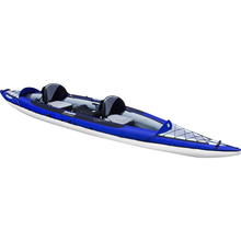New Style Blue & White 2 Person High Quality Inflatable Kayak, Racing Boat, Inflatable Boat