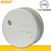 Hot New Products for 2015 Photoelectric 10 Years 3 V Lithium Battery Operated novelty smoke detector