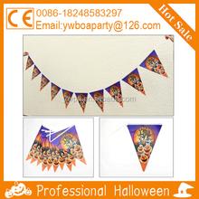 halloween paper flag pennant