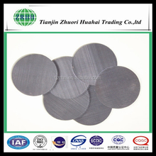 high temperature resistance micron stainless steel extruder screen filter disc filter leaf