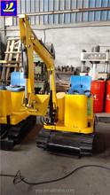 amusement park equipment, remotor control small excavator for children revolving amusement equipment, Rotate 360 degrees digger