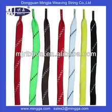 top quality custom polyester hockey skate lace