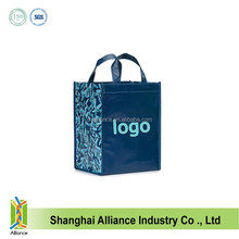 Logo Printed Recycled Laminated PP Non Woven shopping Bag