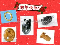 SHANTUI/LIUGONG/XGMA/XCMG track roller,idler,bushing, track pin,bulldozer & excavator undercarriage parts
