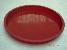 Top silicone cake pan