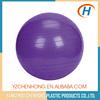 2015 custom printed yoga ball, wholesale customed logo yoga ball with handle