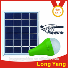 Portable mini solar smart lighting kits, solar kits with solar charging
