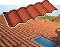 Decorative Stone Coated Metal Roof Tile