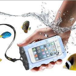 2015 Hot!Waterproof Drawstring Plastic Cell Phone Camera Bag