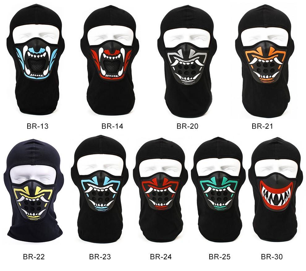 noir coton visage masque balaclava avec de silicium bouche nez protection antipoussi re ou coupe. Black Bedroom Furniture Sets. Home Design Ideas