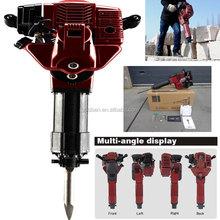 1700w 2.4HP 52cc Mini Gasoline Jack Hammer Drilling Machine Handheld Portable Gas Powered Hammer Drill