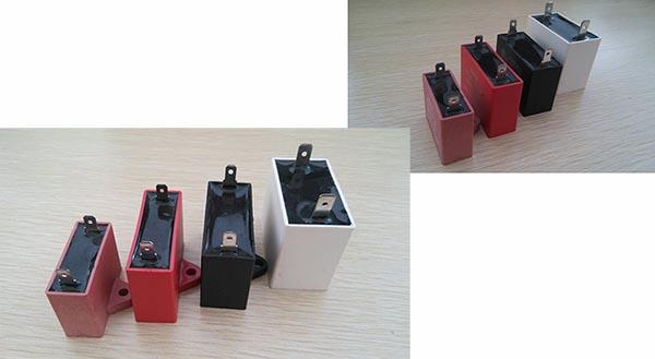 250 450vac Polypropylene Film Capacitor Induction Motor