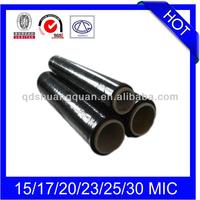 23mic x 500mm x 300m PE Black Polythene Roll