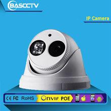 HD IP Dome Camera, ONVIF, P2P, CMS, 4 /6 / 8 mm fixed lens (2.0 Megapixel), 1 pcs Array IR LED, 20-30m IR, 1.0/1.3/2.0Megapixel