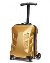 buying online in china 2014 New design trendy leather travel luggage