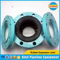 Deep Single Arch Reinforced rubber bellows with Steel Counter Flange