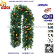 2014 Guirnaldas Navideñas para decoración de ramas de árbol copa de pino seco