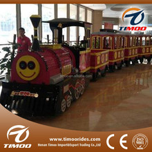 Children amusement park entertainment games shopping mall use mini electric trains