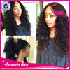 100% brazilian human hair natural color japanese party full lace wig curly top wig