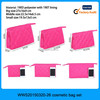 2015 Yiwu hot sale 3pcs womens cosmetic travel bag, travel cosmetic bag