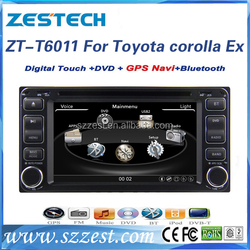 ZESTECH for TOYOTA Universal old camry(06)/corolla(Ex)/ land cruiser/Vitz/Vios/hilux 6.2 inch car dvd player with gps