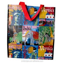 China wholesale branded guess handbags high quality foldable shopping bag