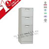 narrow storage cabinets drawer with doors / cheap office furniture light grey file cabinet