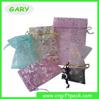Gift Packing Small Drawstring Organza Pouches