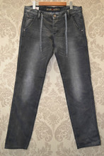 Knitting skinny fiting jeans pants models for men