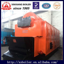 2 ton Wood Pellet/Palm Husk/Anthracite Coal fired Horizontal Active Grate Manual Steam Boiler