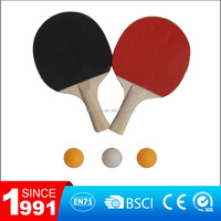 penhold table tennis bat/ping pong game/table tennis bat and ball