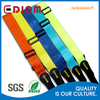 Wholesale funny fashion custom brighting colorful blue rock guitar strap