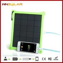 Guangzhou factory automatic mobile phone charger, 5w solar mobile phone battery charger
