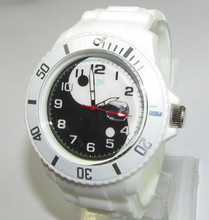 classical simple design large face band interchangeable watch