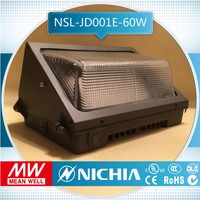 sample free of charge 60w dubai wholesale market wall pack, dust proof led light fixture