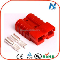 UL industrial 2 pole storage 50A -350A battery quick disconnect electrical connectors