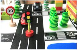 free sample kids toy CMYK custom print tape road design