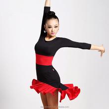 Nouveau venir 7031 femmes fille salle de bal robe de danse latine