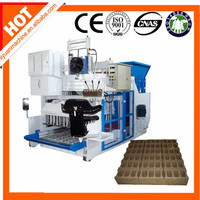 machinery for small industries QMY18-15 egg laying cement paving block making machines