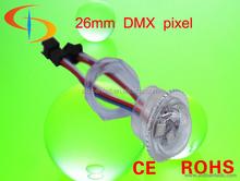Chasing led light,26mm led full color rgb amusement pixel ucs1903 controller