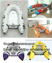 rigid hull inflatable boats china inflatable pontoon fishing boat