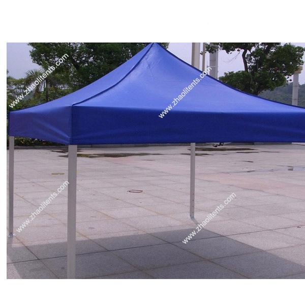 Waterproof canvas steel frame tent outdoor warehouse for Steel frame tents