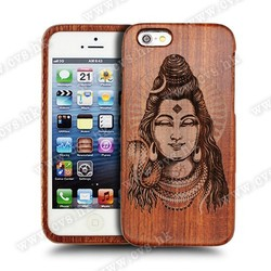 Hot Product Natural Wood Case For Iphone 6,Bamboo Phone Case For Iphone6.