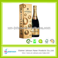 low price champagne gift box for one bottle