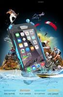 New Arrival Original R-Just Gundam Style For iPhone6G Waterproof Dirtproof Snowproof Shockproof Metal Mobile Phone Case