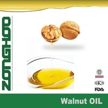 pure walnut oil in drum