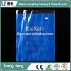 PVC vinyl bag with loop handle