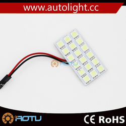 dome reading light 18 SMD 5050 auto led car panel light