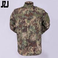 Clothing Market In China Wholesalers OEM ACU Army Military Combat Uniform Camouflage Clothing